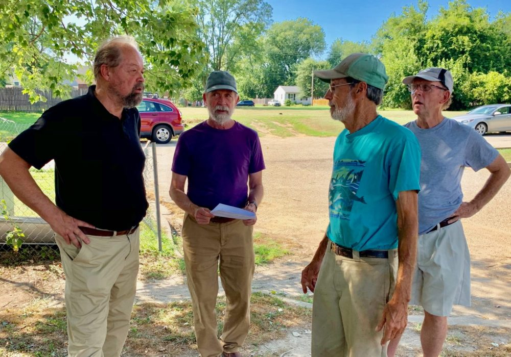 From left to right: Ed Minch, Dave Minch, Bob Ingersoll, Jonathan Chace